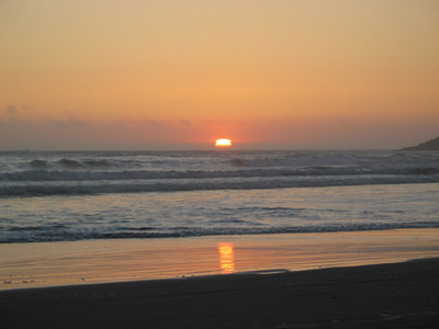 Sunset from near Gold Beach, Oregon