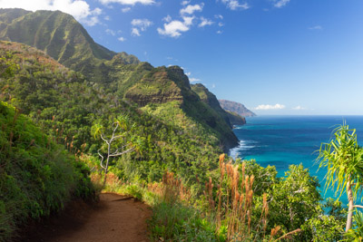 Kauai's Napali Coast from the Kalalau Trail